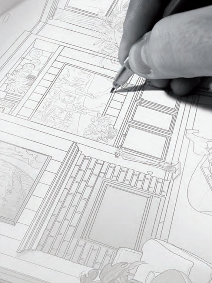 maquette plan 2D